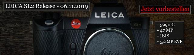 ライカSL後継機「ライカSL2」とパナソニック「LUMIX S PRO 70-200mm F2.8 O.I.S.」と「LUMIX S PRO 16-35mm F4」が今週発表される!?