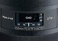 atx-i 100mm F2.8 FF MACRO