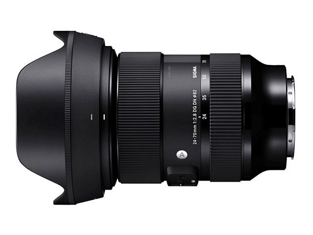 Eマウント、Lマウント用レンズ「24-70mm F2.8 DG DN | Art」