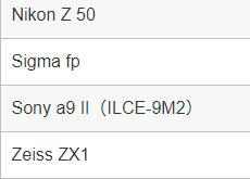 Adobe Camera Rawがフライングで「Zeiss ZX1」に対応した模様。