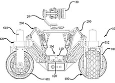 DJIのカメラ搭載オフロード車の特許