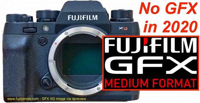 富士フイルムGFXシリーズの新型機は2020年は登場しない!?