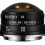 Venus Opticsから「Laowa 4mm f/2.8 Fisheye」のXマウント、Eマウント、EF-Mマウント用が発売された模様。