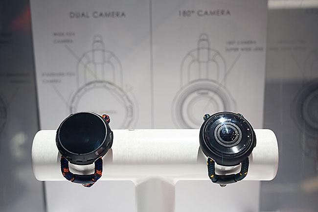 キヤノン 腕時計型カメラ