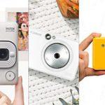 「キヤノン iNSPiC ZV-123」vs「富士フイルム instax mini LiPlay」vs「コダック C210」カメラ付きフォトプリンター比較
