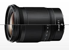 「NIKKOR Z 20mm f/1.8 S」「NIKKOR Z 24-200mm f/4-6.3 VR」