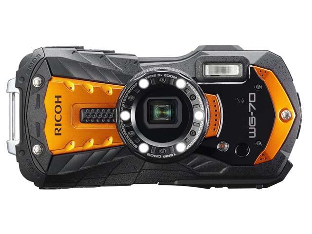リコー タフネスカメラ「WG-70」