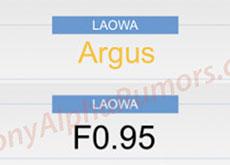 LAOWAのF0.95レンズシリーズ「Argus」