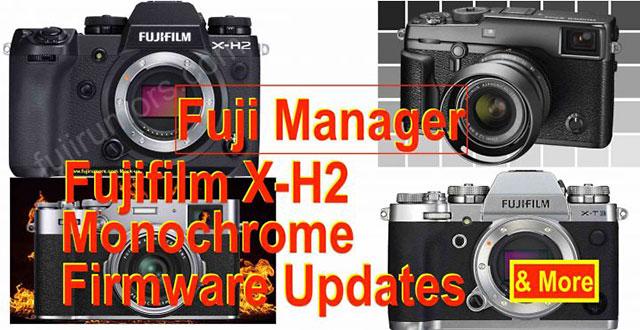 富士フイルムX-Hシリーズは終わっていないと富士フイルムのマネージャーがコメントした模様。また、Xシリーズ10周年記念にモノクロ専用機登場の可能性も示唆。
