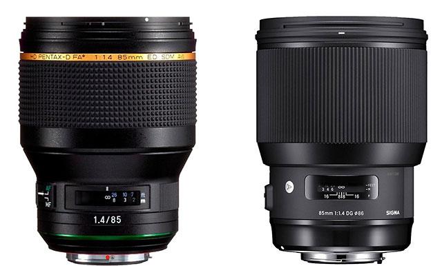 リコーイメージングの「HD PENTAX-D FA★85mmF1.4ED SDM AW」は、「SIGMA 85mm F1.4 DG HSM | Art」がベースになっている!?