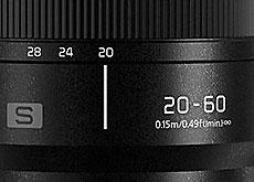 LUMIX S 20-60mm F3.5-5.6