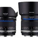 「SAMYANG MF 14mm F2.8 UMC II」「SAMYANG MF 85mm F1.4 UMC II」の製品画像とスペック情報のリーク。