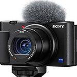 ソニーのVlogger向けデジカメ「ZV-1」の製品画像がフライング掲載された模様。