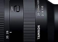 タムロン「28-200mm F/2.8-5.6 Di III RXD」