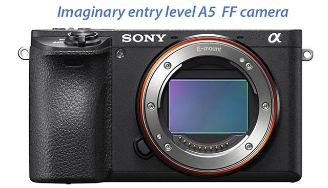 ソニーのエントリークラスのフルサイズ機「α5」は、小型でEVFは搭載されない!?