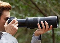 キヤノン「RF600mm F11 IS STM」「RF800mm F11 IS STM」「RF85mm F2 Macro IS STM」「RF100-500mm F4.5-7.1 L IS USM」「Extender RF1.4x」「Extender RF2x」の製品画像とスペックのリーク情報。