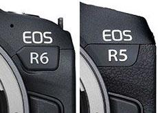 キヤノンの「EOS R5」は4199ポンド、「EOS R6」は2499ポンドの模様。