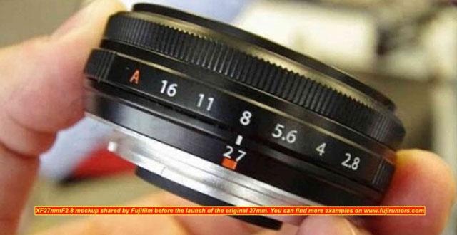 XF27mmF2.8 II