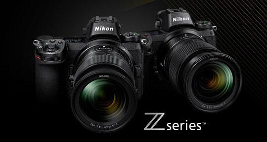 ニコンの「Z 6」「Z 7」の後継機「Z 6s」「Z 7s」