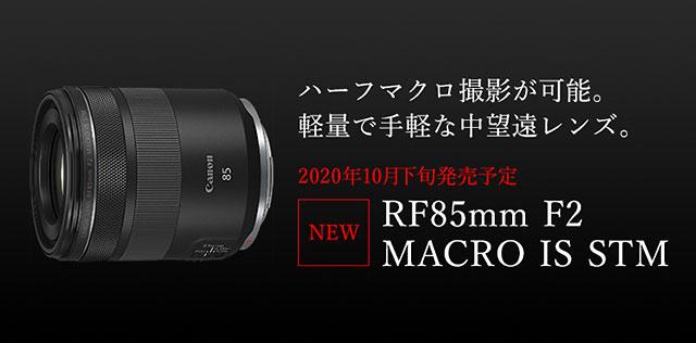 RF85mm F2 MACRO IS STM