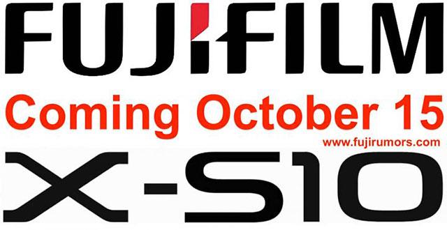 富士フイルムは10月15日にX-S10を発表する。