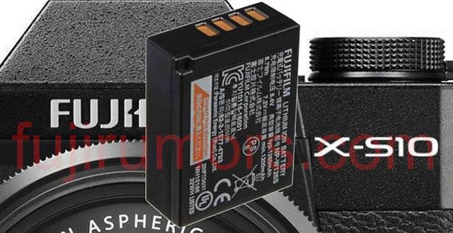富士フイルムの「X-S10」は、バッテリーはNP-W126Sが採用されている!?
