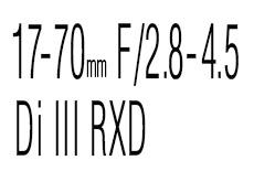 タムロン「17-70mm F/2.8-4.5 Di III RXD」