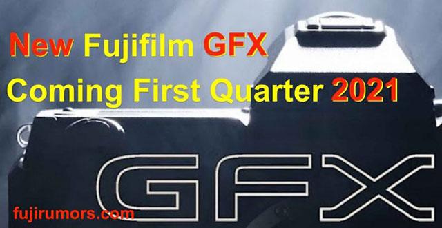 富士フイルムのGFXシリーズの新機種が2021年の1月~3月に登場する!?