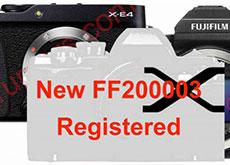 富士フイルムの未発表デジカメ「FF200003」