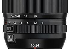 富士フイルム「XF10-24mmF4 R OIS WR」
