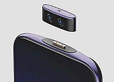 カメラを本体から分離できるスマホ「Vivo IFEA」。