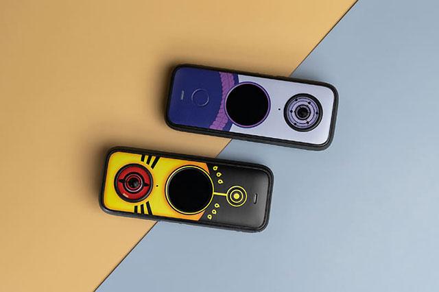 「NARUTO」コラボモデル「Insta360 ONE X2 NARUTO 特別版」と「Insta360 ONE X2 SASUKE 特別版」