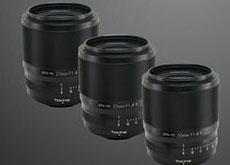 トキナーの富士フイルムXマウント用レンズ「atx-m 23mm F1.4 X」「atx-m 33mm F1.4 X」が近似中に登場する模様。