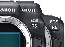 キヤノン「EOS R5」「EOS R6」