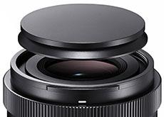 シグマの「Magnetic Lens Cap」