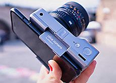 スマホとレンズ交換式マイクロフォーサーズを合体させたAIカメラ「Alice Camera」