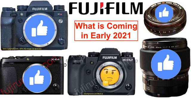富士フイルムの2021年初めに発表するのは「小型のGFX100」「」「」「X-E4」!?さらにサプライズな新製品も!?