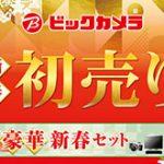 ビックカメラが約200万円の「フラッグシップ一眼レフカメラセット」を5セット限定で1月1日に発売。総額242万円相当の模様。