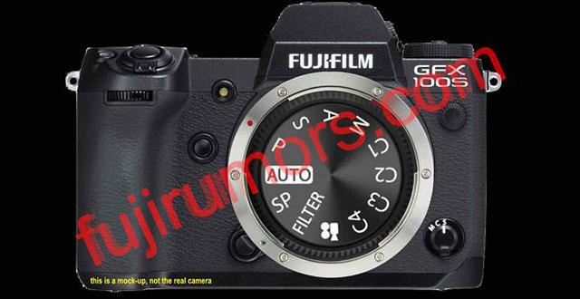 富士フイルムの小型版GFX100「GFX100S」は、PSAMダイヤルを搭載している!?ファインダーは固定式に!?
