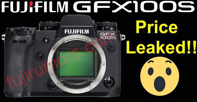 富士フイルムの小型GFX100「GFX100S」の価格は5,999ドル!?