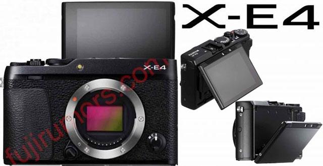 富士フイルム「X-E4」は、「X70」や「α6400」と同様のチルト式液晶を搭載する!?
