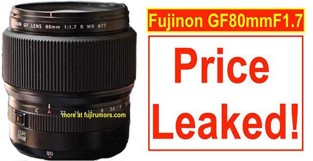 GF80mmF1.7 R WR