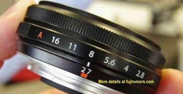 富士フイルム「XF27mmF2.8 II」には絞りリングが搭載され防塵防滴になる!?