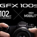 """<span class=""""title"""">富士フイルムが「GFX100S」を正式発表。1億200万画素でGFX 50Sとほぼ同等かそれ以下の大きさのサイズで税別約67万円。</span>"""