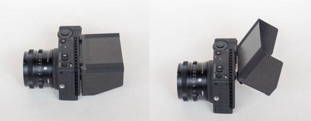 SIGMA fpの背面モニターをチルト式背面モニターに改造するキット