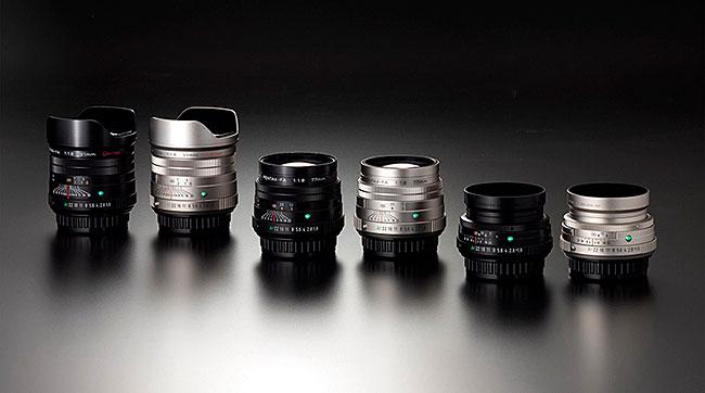 「HD PENTAX-FA 31mm F1.8 Limited」「HD PENTAX-FA 43mm F1.9 Limited」「HD PENTAX-FA 77mm F1.8 Limited」を正式発表。