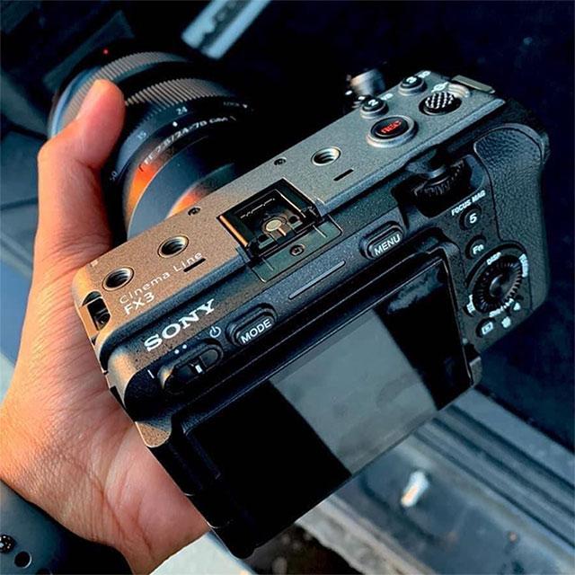ソニーのプロ向けカムコーダー「FX3」