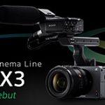 ソニーがCinema Lineシリーズ最小最軽量のフルサイズセンサー搭載カメラ「FX3」を正式発表。