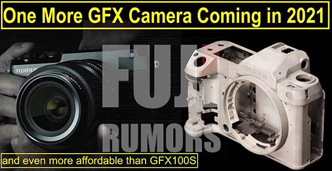 富士フイルムが2021年に新たなGFXシリーズを発売する!?「GFX100S」よりも手頃な価格になる!?