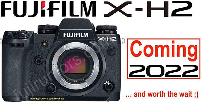富士フイルム「X-H2」は2022年に発売される!?